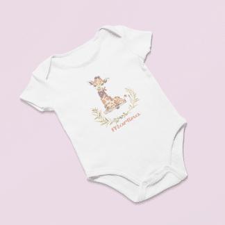 Body personalitzat girafa