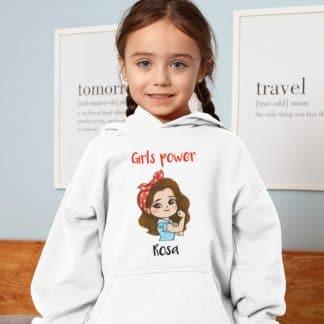 Dessuadora personalitzada nena girls power