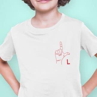 Samarreta llengua dels signes per nens