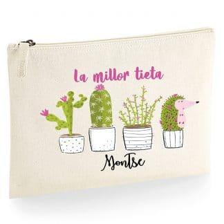 Necesser personalitzat cactus